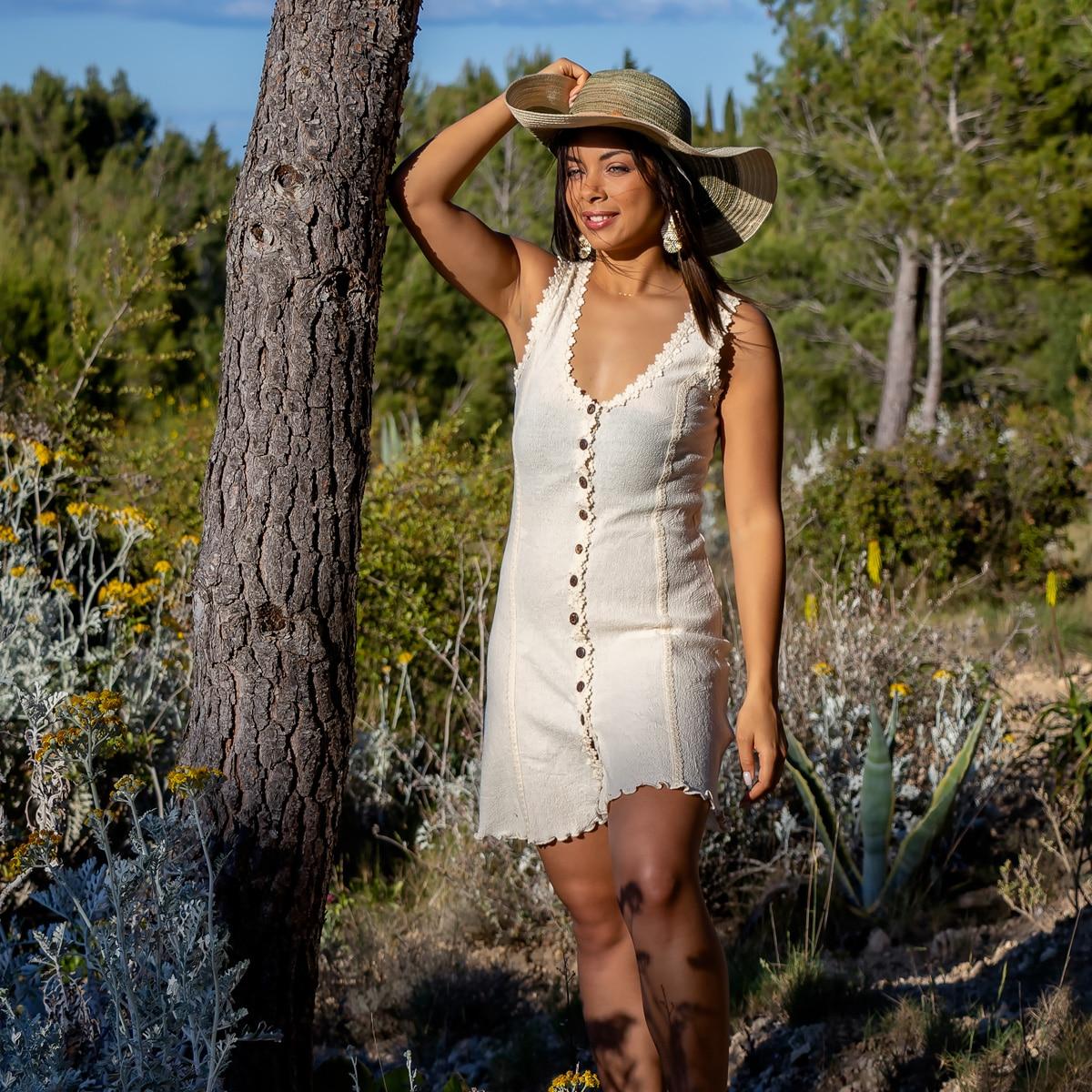 Robe Courte Coton Biologique - Robe Inka