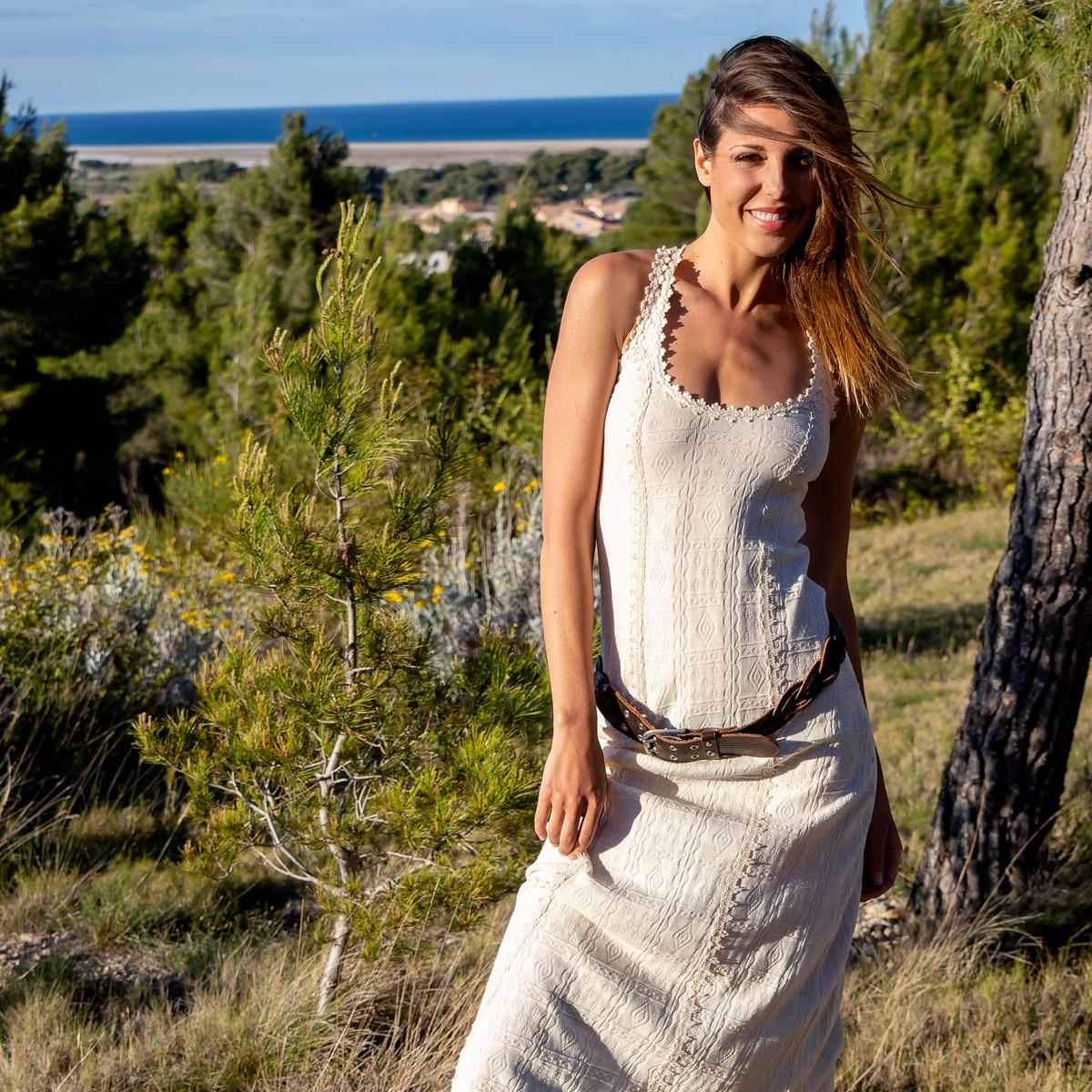 Robe Longue Coton Biologique - Robe Trukilo