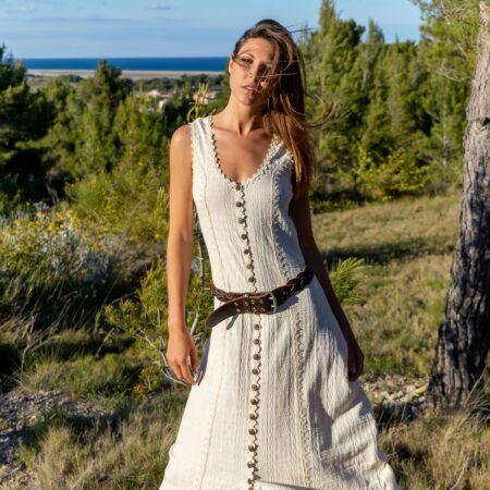 Robe Longue Coton Biologique - Robe Maya