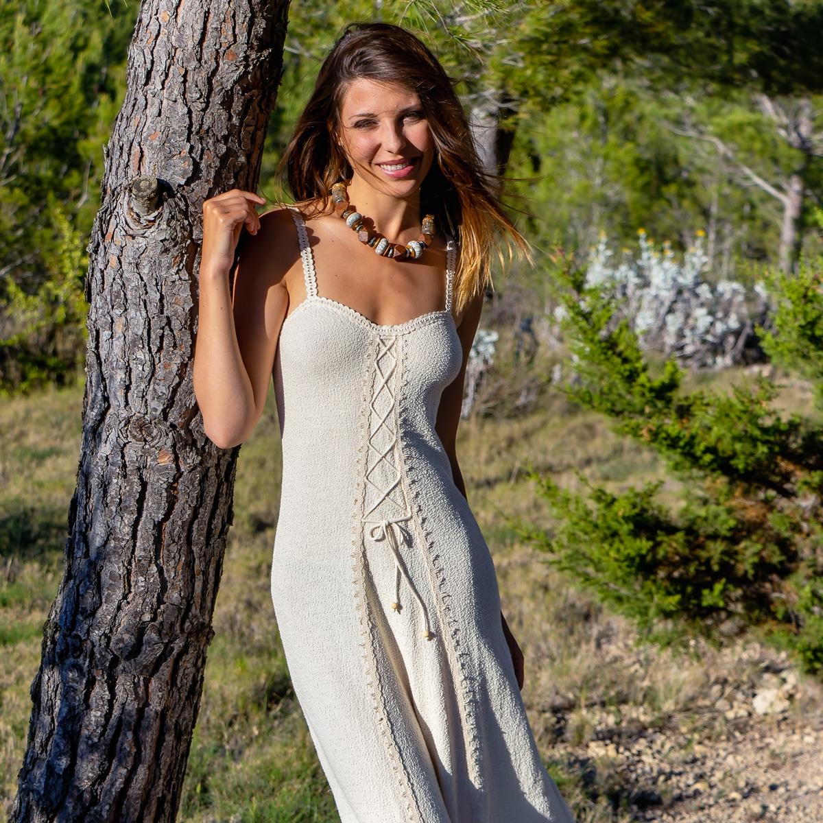 Robe Longue Coton Biologique - Robe Pacara